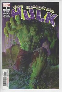 Immortal Hulk 1 (2018) - NM 9.4 - Al Ewing Horror Hulk
