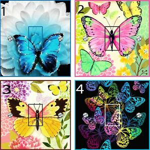 Butterfly Light switch Stickers (UK only)