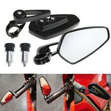 Motorcycle Rear View Bar End Mirrors for Honda GROM MSX125 Yamaha FZ-09 FZ-07