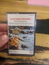 Wes Montgomery California Dreamin Cassette Tape Jazz Verve Japanese Import VG