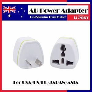 1-20 PCS Universal Travel Adapter UK USA EU to AU Australian Power Plug 3 pin