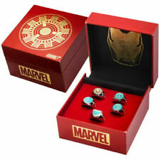More details for marvel's iron man arc reactor ring limited edition replica set