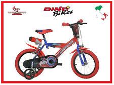 BICI BIMBO SPIDERMAN 14 BICICLETTA BAMBINO DINO BIKES ITALIANA X BIMBI 95-127cm
