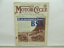 Feb 1935 The Motorcycle Magazine Velocette Triumph Sunbeam Coventry Eagle L8673