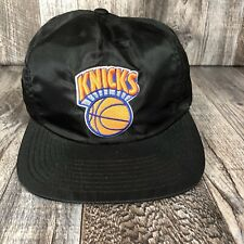 New York Knicks Mitchell And Ness Hat Black Cap NBA Basketball Hardwood Classics