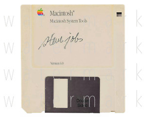 Steve Jobs Floppy Disc signed 8X10 inch print photo picture poster autograph RP