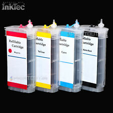 remplissable recharge cartouche ENCRE d'imprimante pour HP 10XL hp82xl