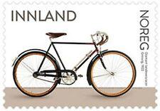 NORWAY 2019 Norwegian Bicycles 4 stamps