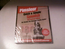BRAND NEW & SEALED Pimsleur Quick & Simple: Spanish 2nd Revised Edition (4 CDs)