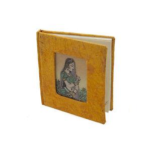 Libro Di Note Giornale Mestiere Carta Riciclata India I