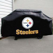 PITTSBURGH STEELERS ECONOMY BARBEQUE BBQ GRILL COVER NFL FOOTBALL