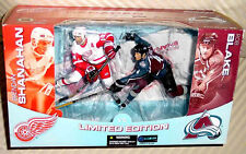 BRENDAN SHANAHAN RED WINGS ROB BLAKE AVALANCHE 2 PACK