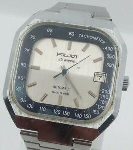 Soviet watch POLJOT in mint condition, automatic movement 23 jewels