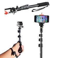 Akiko Electronics Selfie Handheld Stick Pole with Mount Holder