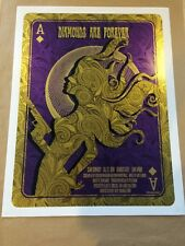 James Bond Diamonds Are Forever Art Print Poster O'Daniel 2012