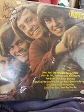 THE MONKEES Peter Tork Signed Album Record Cover JSA COA