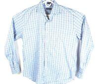 Peter Millar Men's Sz Large Long Sleeve Button up Blue