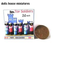 toy soldier counter  display