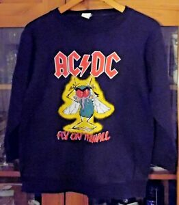 ACDC - Fly On The Wall - Sweatshirt , Groesse XL , 100 % Baumwolle