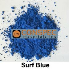 SURF BLUE Concrete Color Pigment Dye for Cement Mortar Grout Pool Plaster 2 oz