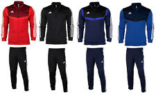 Adidas Tiro 19 mens training full zip tracksuit top bottoms pants