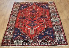 OLD WOOL HAND MADE PERSIAN ORIENTAL FLORAL RUNNER AREA RUG CARPET 192x140CM
