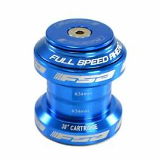"Fast Shipping FSA Orbit MX 1-1/8"" Threadless MTB Road Headset with Top Cap, Blue"