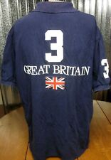 RALPH LAUREN polo shirt Great Britain embroidery 1990s fashion Union Jack #3