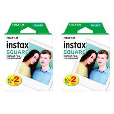 2 Packs 40 Instant Photos FujiFilm Instax SQUARE Film Polaroid Camera For SQ20