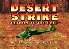 Desert Strike Return To The Gulf - Sega Genesis Game