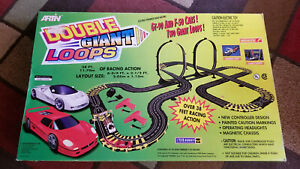 "ARTIN ""Double GIANT Loop's"" Ford VS Ferrari 38 foot 1:43 Slot Car Race Set"