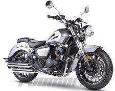 ZIPP RAVEN X CRUISER BIKE 125 ccm 4-Takt CHOPPER MOTORRAD EURO 4 NEUFAHRZEUG