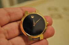 Authentic Men's Movado 88 45 1891 Gold Tone Museum Classic Wrist Watch