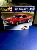Revell '68 Firebird 400 Ram Air 2 n'1 1:25#2342 Factory Sealed In 2001 Model Kit