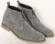 Joseph Abboud Lucca Gray Lace-Up Casual Suede Desert Chukka Boots Men's US 10
