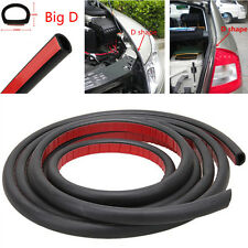 8M D Shape Mat Mounlding Trim Rubber Weatherstrip Car Door Window Edge Seal Pad