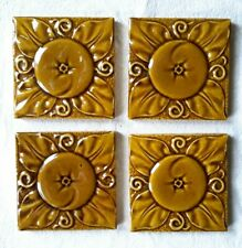 4 x Arts & Crafts Tiles.