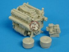 Tank Workshop 1/35 Maybach HL 230 P45 Tiger I / II Engine w/Air Cleaners 353007