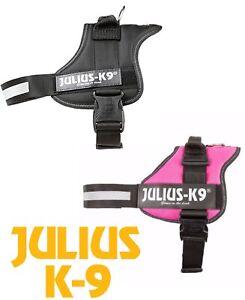 JULIUS K9® POWER HARNESS STRONG & REFLECTIVE DOG HARNESSES SIZE 0 MEDIUM