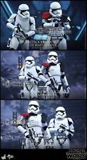 Hot Toys MMS335 Star Wars VII First Order Stormtrooper & Officer 2-Pack Figures