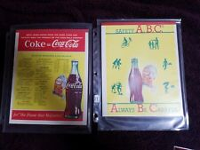Coca Cola 1949 An 1950 Spriteboy Notebooks