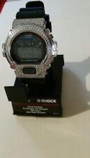 New 3.25 ct diamond G Shock DW-6900-1vct / 3230 Watch