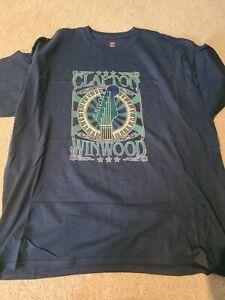 Eric Clapton Steve Winwood Concert Tour Shirt Original