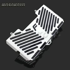 Motorcycle Silver Radiator Water Cooler Grill Guard Cover For BMW F650GS 2008-12