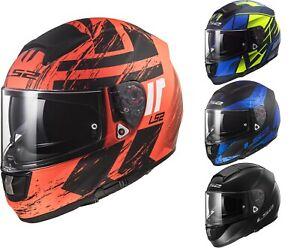 LS2 FF397 Vector HPFC Evo Motorradhelm Integralhelm oder wahlweise Visier