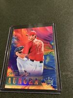 2018 Diamond Kings Aurora Shohei Ohtani card # A10 RC Los Angeles Angels Rookie