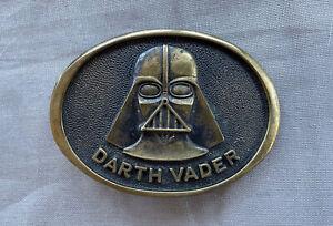 Darth Vader Belt Buckle -  1977
