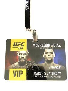 UFC 196 Conor McGregor vs Nate Diaz, Holm vs Tate  VIP Pass