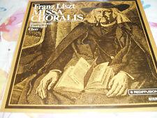 "Franz Liszt ""Missa Choralis"" Bournemouth Choir  Vinyl Lp Rediffusion ZS 74  M/M"