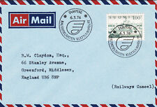 (07681) Finland Cover Trains Tampere 6 March 1976